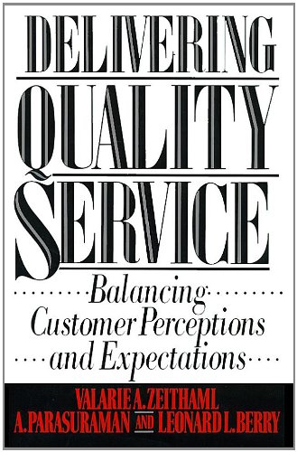 Delivering Quality Service (English Edition)