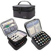 Luxja Caja para Aceite Esencial Organizador para Aceite Perfumado y Accesorios(30 botellas)Sin accesorios