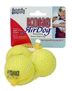 Kong Lot de 3 balles de tennis avec couineur