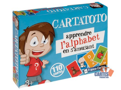 Jeu de 110 cartes : Cartatoto Alphabet