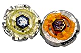 #10: Toyshine 2 in 1 Beyblade Constellation Tops, with 2 Launchers and Met