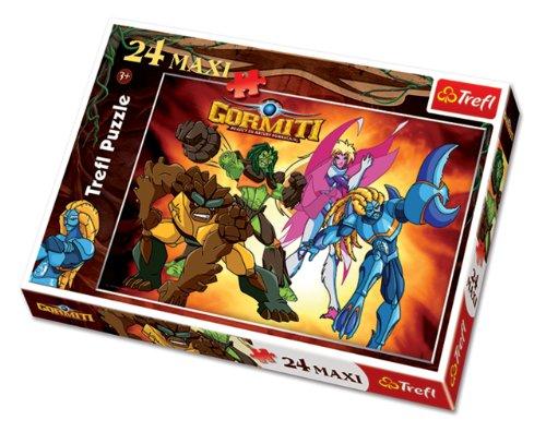 Trefl Puzzle Ready To Fight Gormiti (24 Pieces)