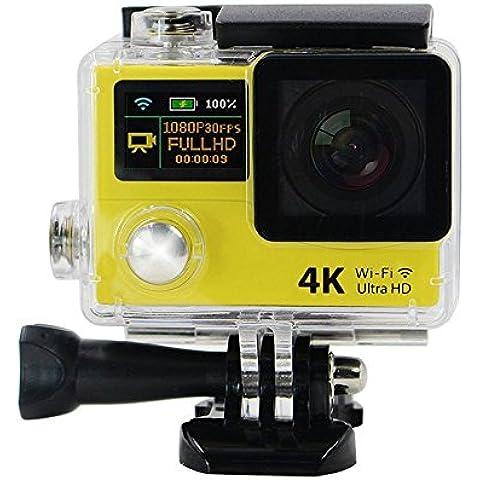 Doppia azione sullo schermo della macchina fotografica 4K Ultra HD