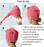 Best Quick Drying Towels - Eco Hometown 2pcs Hair wrap Towel for Quick Review