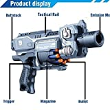 #4: GIA Digital™ Blaze Storm Battery Operated HIGH Speed Gun Soft Bullet Gun 20 Soft Bullets Included (2018 Latest Edition)