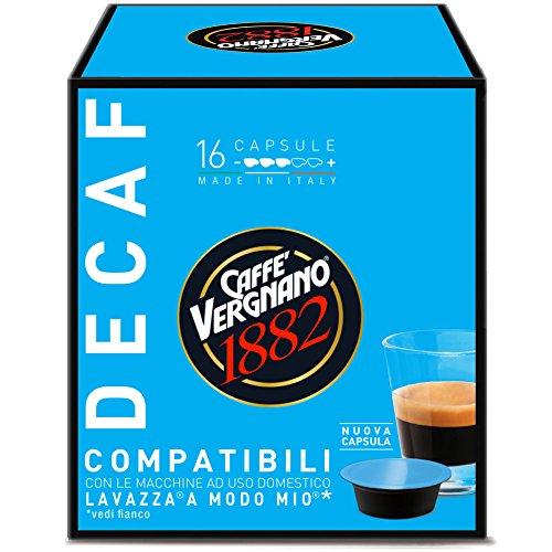 Caffe' Vergnano 1882 Capsule Decaffeinato - 8...
