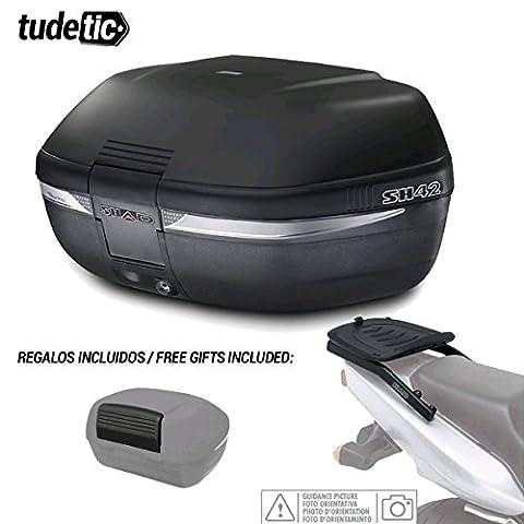 Shad–kit-shad-1395/214: Kit Fijacion and Suitcase Baul Rear + Gift Backrest
