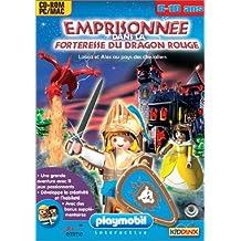 Playmobil : Emprisonnée dans la forteresse du Dragon Rouge