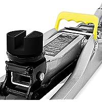 Deuba® Gummiauflage Wagenheber mit Stahlverstärkung | universell einsetzbar | für alle gängigen Modelle | Rutschfest | Rangierwagenheber Hebebühne - Mengenauswahl