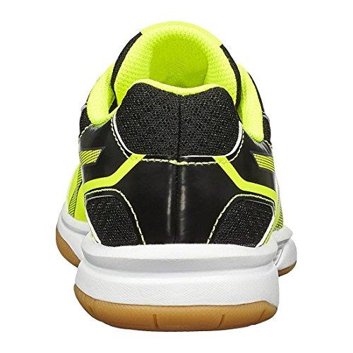 Asics Upcourt 2 Gs, Scarpe Da Ginnastica Unisex – Bambini Giallo (Safety Yellow/Dark Grey/Black)