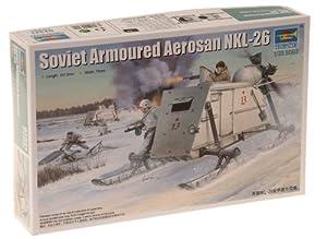 Trumpeter 02321 NKL-26 Soviet Armoured Aerosani - Motonieve blindada soviética en Miniatura