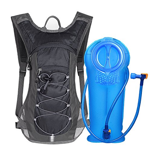 51M816IF4eL. SS500  - Unigear Hydration Pack Backpack with 70 oz 2L Water Bladder for Running Hiking Cycling Climbing Camping Racing