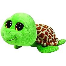 Ty 7136109 Beanie Boos - Peluche della Tartaruga Zippy, 15 Cm, Colore: Verde