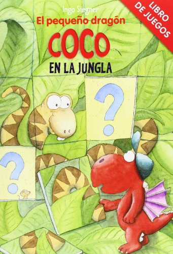 Libro De Juegos. El Pequeño Dragón Coco En La Jungla por Ingo Siegner