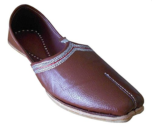 Kalra-Creations-Mens-Traditonal-Indian-Faux-Leather-Groom-Shoes