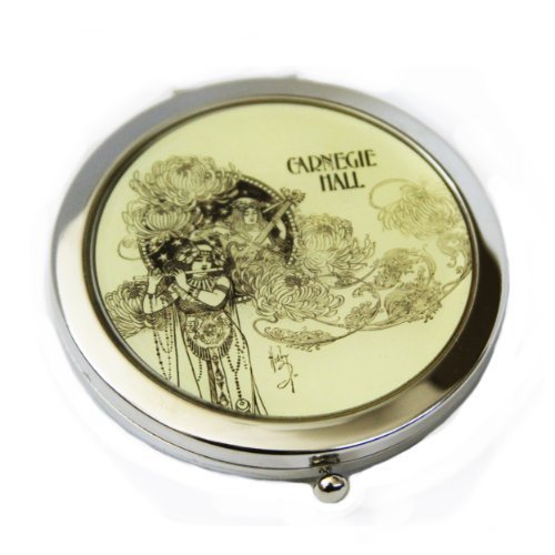 carnegie-hall-compact-mirror-yellow-by-lucy-lu