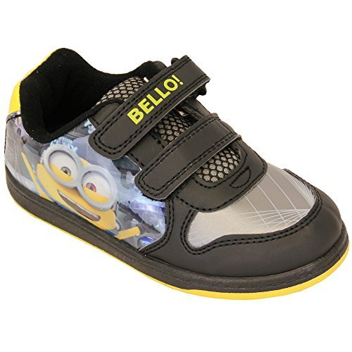 Baskets Garçon Despicable Me Minion Star Wars Chaussures À Velcro Enfants Bello Pompes Neuves