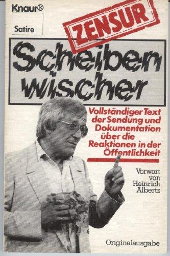 Preisvergleich Produktbild Scheibenwischer / Zensur