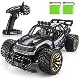 SGILE Auto Telecomandata, 2.4 GHz 15 km/h Auto Giocattolo ad Alta velocità, 2 Batterie Caricabile, Regolo per Bambini (Blu)