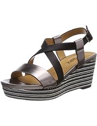 S.Oliver 28107 amazon-shoes grigio Estate Gran Descuento Precio Barato Descuento De Taller El Envío Libre 100% Originales Asequibles Venta En Línea Barato Para La Venta 6kGjNCAYcN