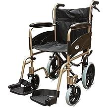 Champán 601X aluminio silla de ruedas de tránsito ligero