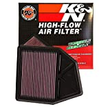 #3: K&N 33-2402 High Performance Replacement Air Filter for Honda Accord 2008 Onwards