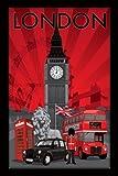 empireposter - London - Decoscape - Größe (cm), ca.