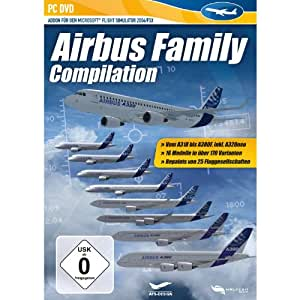 Airbus Family Compilation (add on) für FS2004/FSX [import allemand]