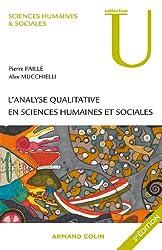 L'analyse qualitative en sciences humaines et sociales (Sciences humaines & sociales)