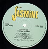 Peggy Lee - Dream Street - Jasmine Records - JASM 1032