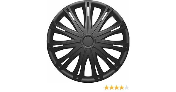 FORD KA 2009 ON 14 Inch Spark Black Car Alloy Wheel Trims Hub Caps Set of 4