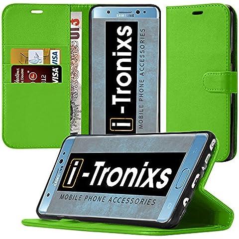 Huawei Honor 8 Portafoglio Custodia protettiva ( verde ) copertura per Huawei Honor 8 generazione (Telefono Guardia Schermo Custodia In Silicone)