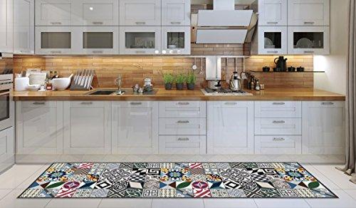 Alfombra Cocina lavable en lavadora, Passatoia Cocina, 52cm x 180c