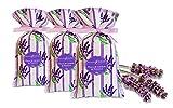 Divine Yoga Shop Premium Sac de lavande–authentique Lavande séchée Buds à partir de Provencal   Premium Sachet de lavande pour parfum de maison   Idéal comme cadeau   1Sac de 18grammes