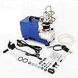 Hochdruckelektrische Luftkompressor Pumpe, 1800W 30MPA 4500PSI Hochdruck-Druckluftpumpe Elektrischer Luftkompressor, PCP-Luftpumpe für Druckluftpistole