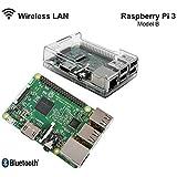 RASPBERRY Pi 3 - 1,2 GHz Quad Core 64Bit 1GB RAM (2016 Modèle) avec Etui - Housse Etui