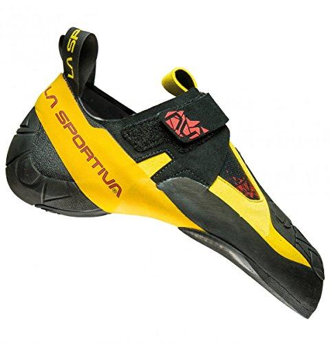 La Sportiva S.p.A. Skwama Men Größe 40,5 Black/Yellow