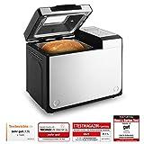 Klarstein Country-Life Machine à pain automatique design (12 programmes de cuisson, jusqu'à 1 kg de pain, programme rapide, minuterie, moule antiadhésif)