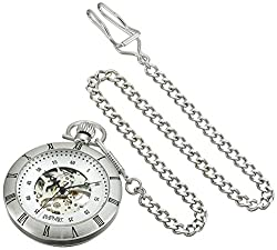 August Steiner Analog Silver Dial Mens Watch - AS8017SS