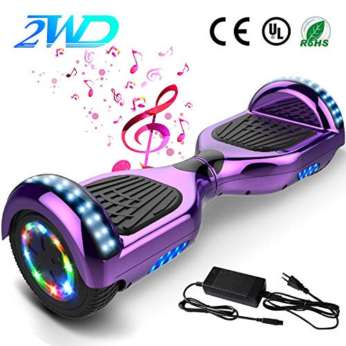 "2WD Hoverboard 6,5 Zoll, 6,5"" elektrischer Roller - Bluetooth - UL Zertifiziert"