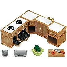 Sylvanian Families - Set horno, fregadero, y encimera cocina (Epoch para Imaginar 5222)