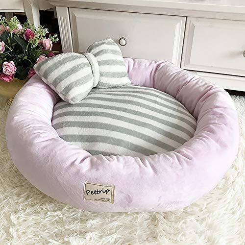 CJHK Flauschige Hundedecke 45x14cm Katzen Decke mit super Soft weiche zweiseitige Flauschige Haustier-Decke, Überwurf für Hundebett Sofa und Kennel,Pink,S