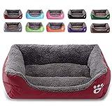BAICHAO Dog Bed, Super Soft Pet Sofa Cats Bed, Non Slip Bottom Pet