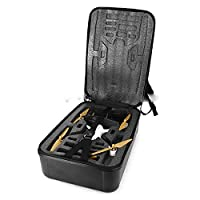 PinShang Portable Carry Case Backpack Hard Shell Storage Box Black for Hubsan H501S RC Drone