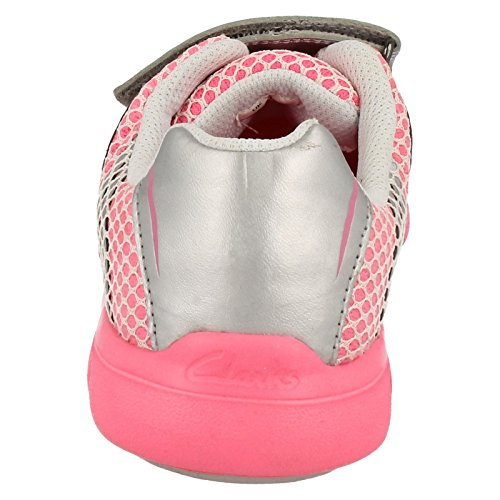 Cica Par Clarks Baskets FreeSprint Pink Combi