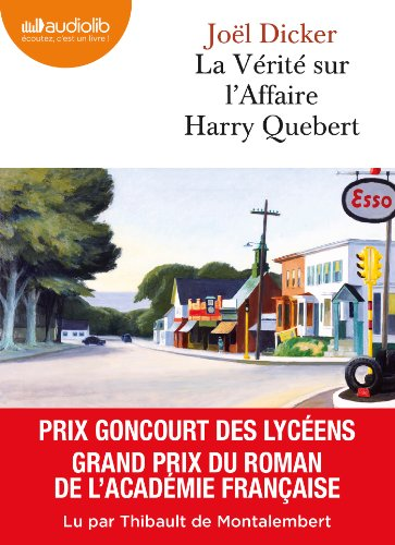 La Vérité sur l'affaire Harry Quebert: Livre audio 2 CD MP3