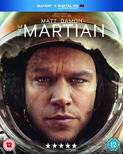 The Martian [Blu-ray + UV Copy] [2015] UK-Import, Sprache-Englisch.
