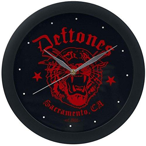 Deftones - Red Tiger Wanduhr