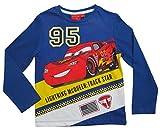 Cars Disney 3 Kollektion 2017 Langarmshirt 92 98 104 110 116 122 128 Shirt Lightning McQueen Blau (Blau, 92-98; Prime)