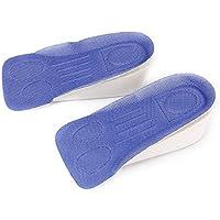 SODIAL (R) 1 par de zapatos de aumento de la altura plantillas cojines sorties levantar los talones